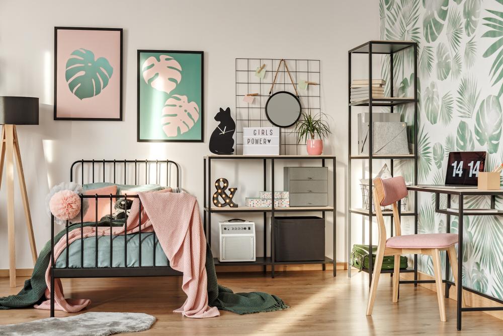 Decoração estilo urbana para quartos