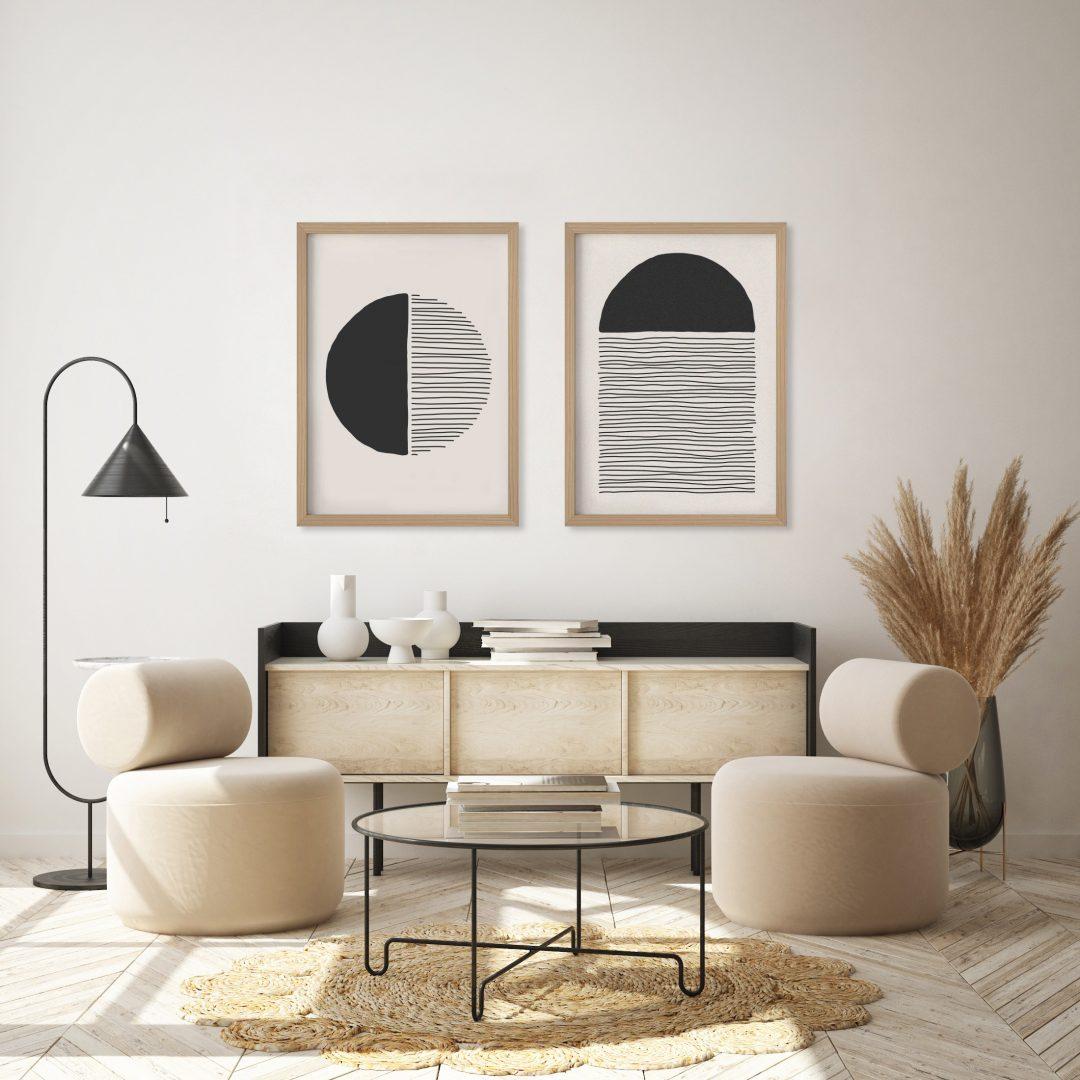 Como colocar quadros na parede?