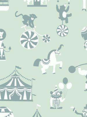 Papel de Parede Adesivo Baby Circo