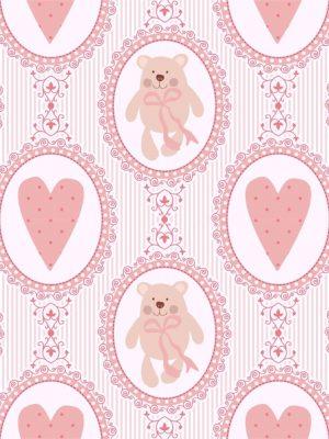 Papel de Parede Adesivo Baby Urso