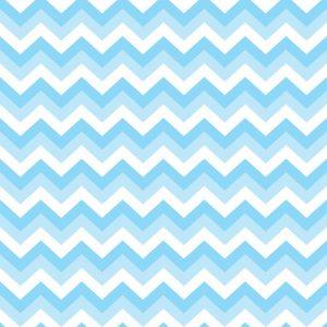 Papel de Parede Adesivo Chevron Tons de Azul