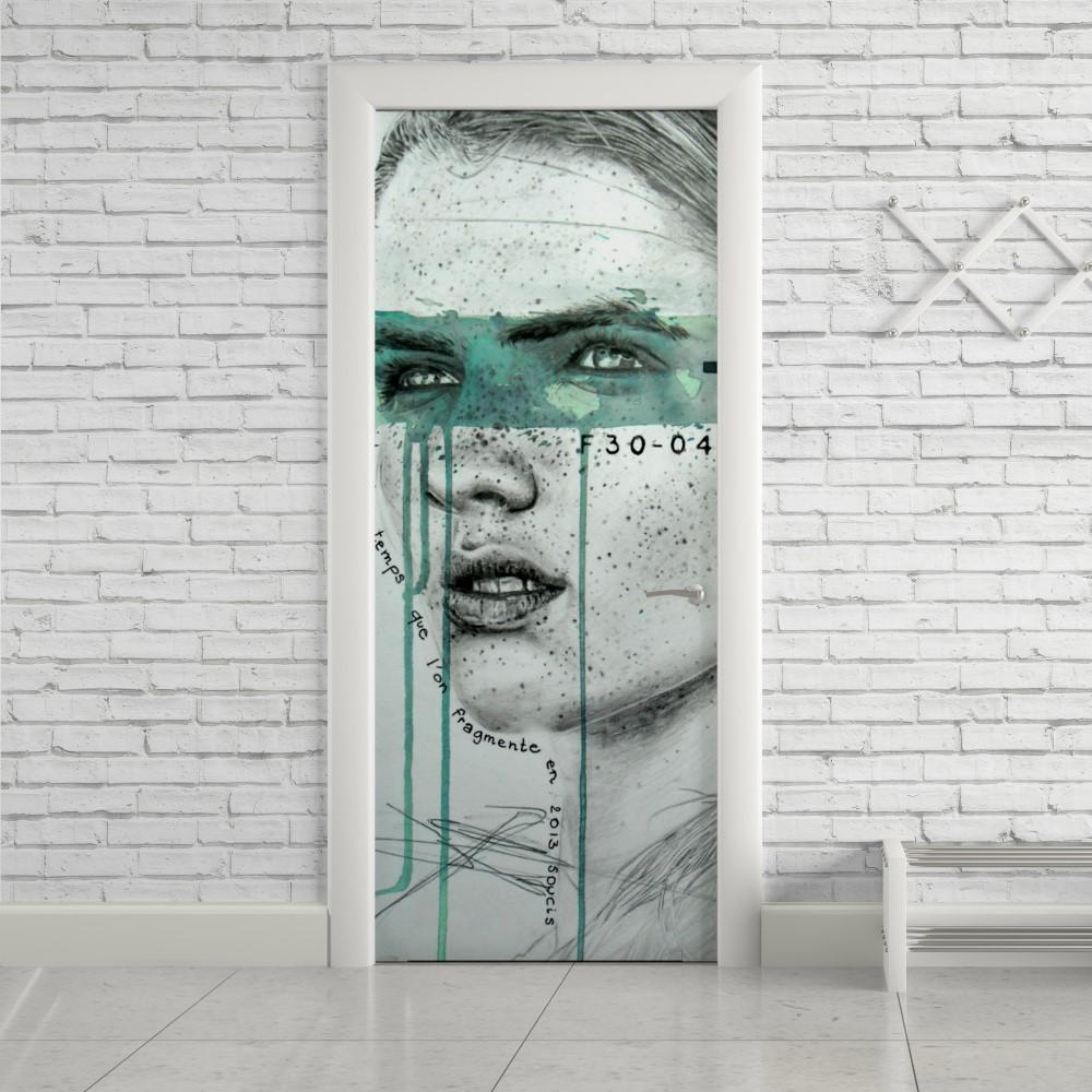 Adesivo de Porta Art