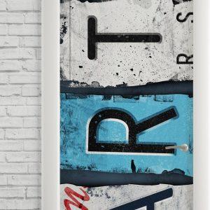 Adesivo de Porta Art Sign