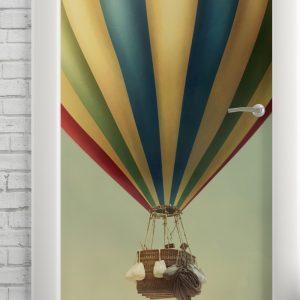 Adesivo de Porta Balão