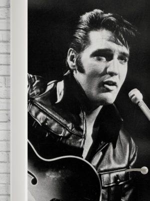 Adesivo de Porta Elvis BW