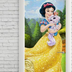Adesivo de Porta Princesa Snow White