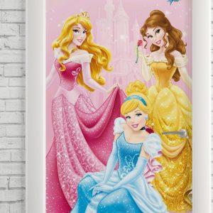 Adesivo de Porta Princesas