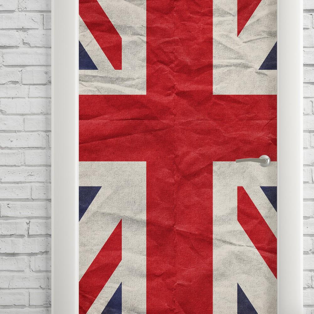 Adesivo de Porta UK