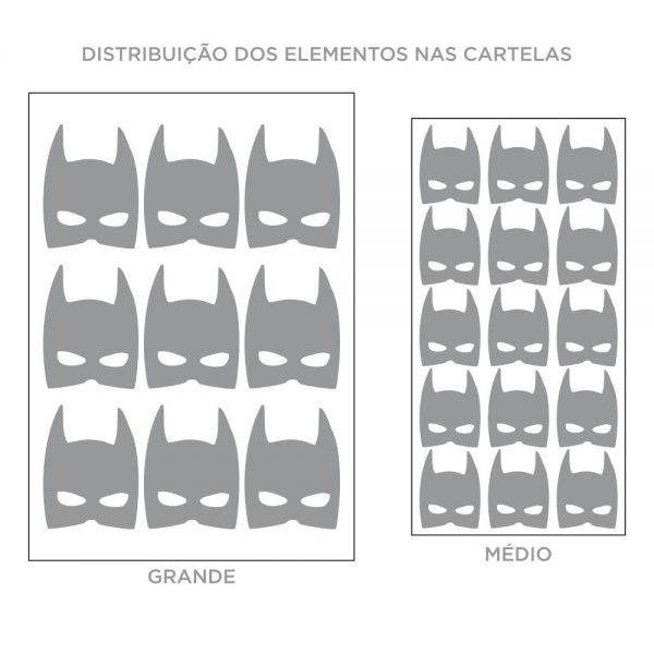 Kit de Adesivos de Parede Batman
