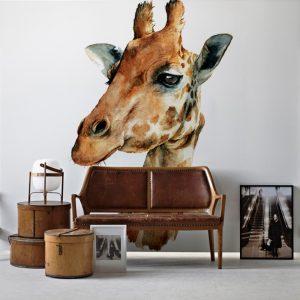 Painel Fotográfico Girafa