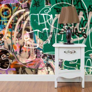 Painel Fotográfico Grafite Cores