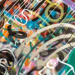 Painel Fotográfico Grafite Pincel