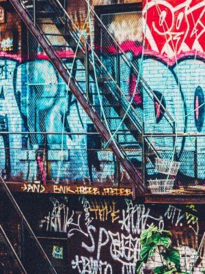 Painel Fotográfico Grafite Urbano