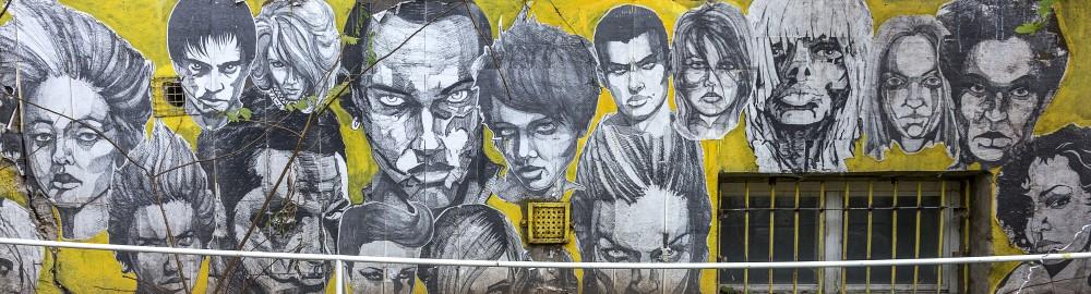 Painel Fotográfico Grafite Yellow
