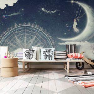 Painel Fotográfico Infantil Dream Sky