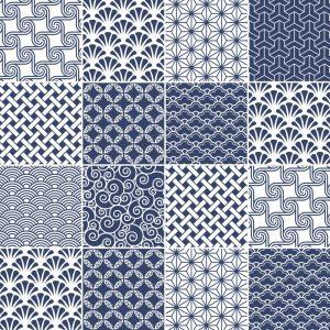 Papel de Parede Adesivo Azulejo Azul