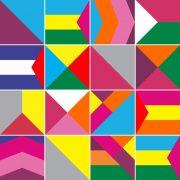 Papel de Parede Adesivo Azulejo Colorful