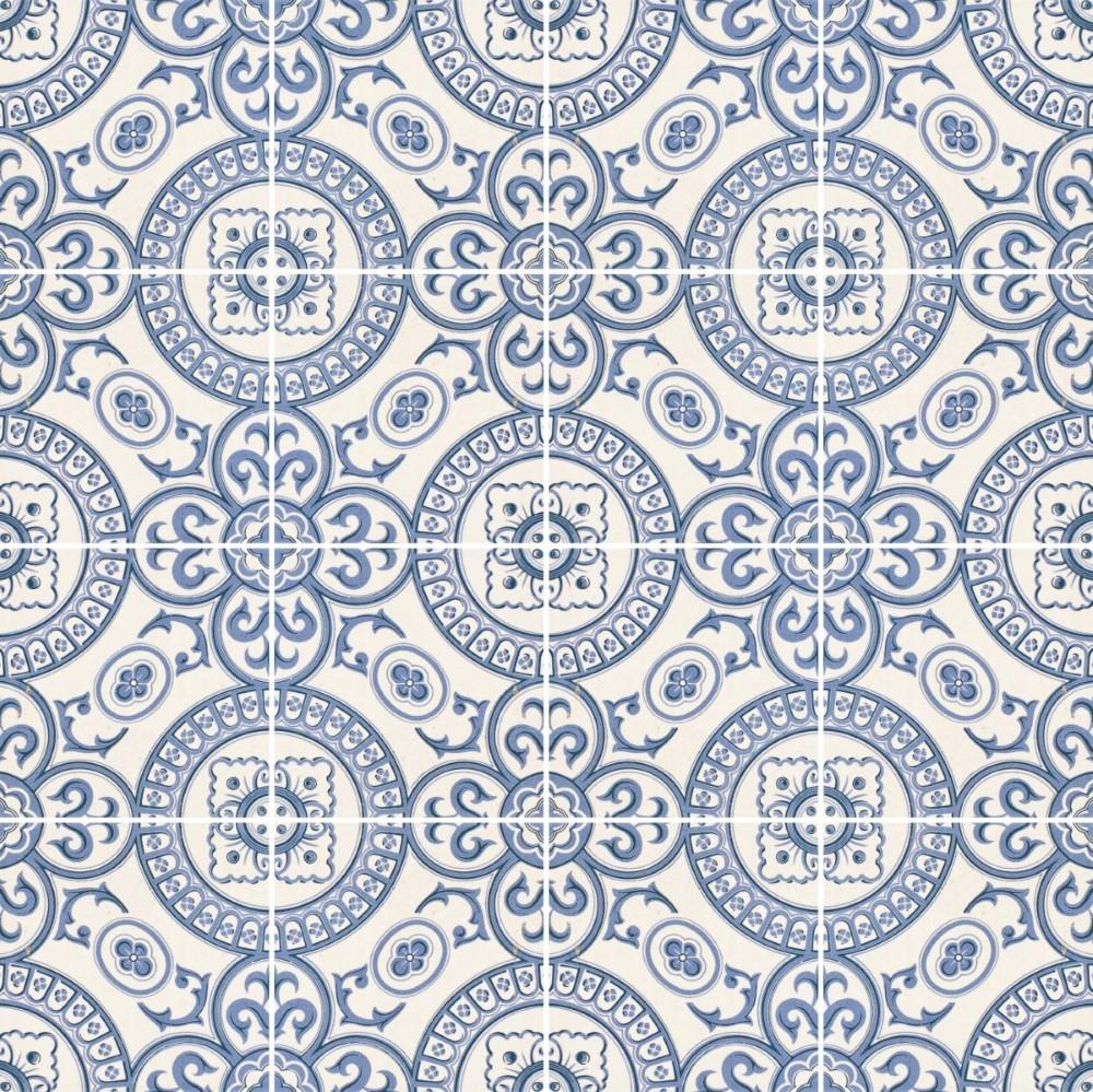 b974d7441 Papel de Parede Adesivo Azulejo Português - StickDecor