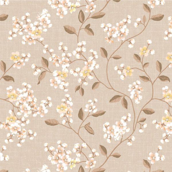 Papel de Parede Adesivo Floral Galhos