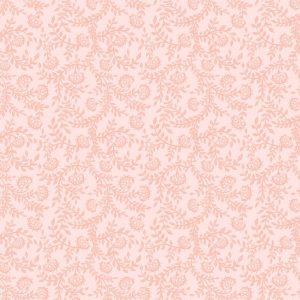 Papel de Parede Adesivo Floral Tons de Rosa