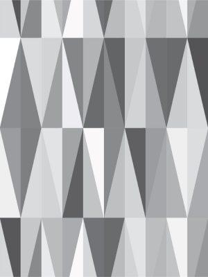 Papel de Parede Adesivo Geométrico Cinza
