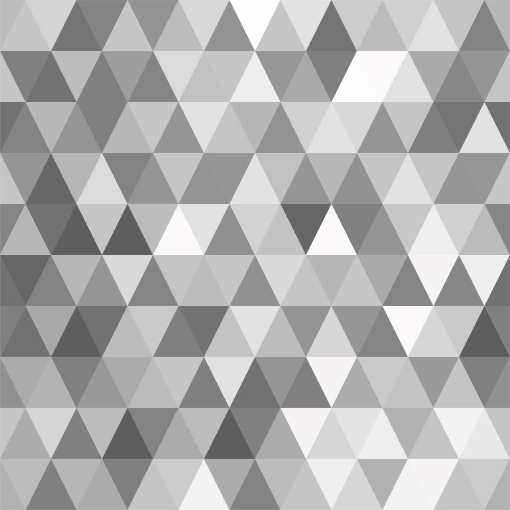 Papel de parede adesivo geom trico mosaico cinza stickdecor - Papel de vinilo para paredes ...