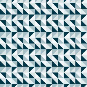 Papel de Parede Adesivo Geométrico Mosaico
