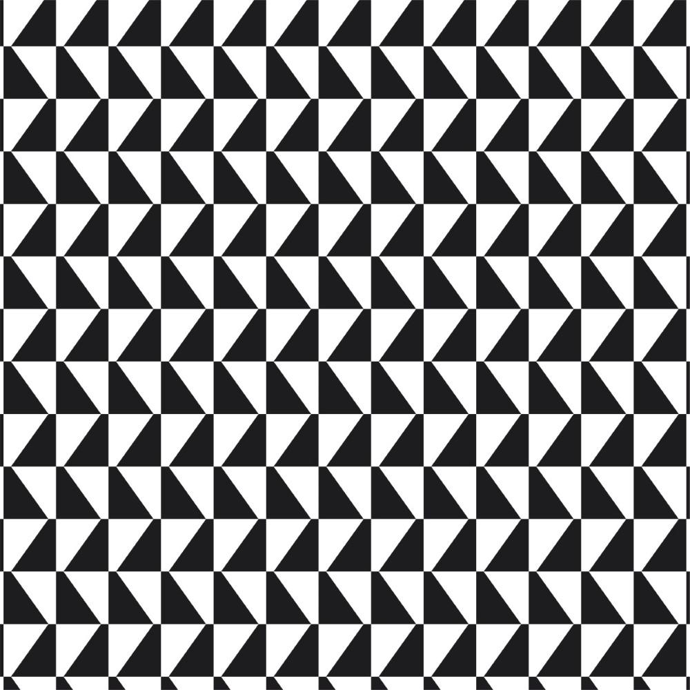 Artesanato Portugues Revenda ~ Papel de Parede Adesivo Geométrico Mosaico Preto e Branco StickDecor