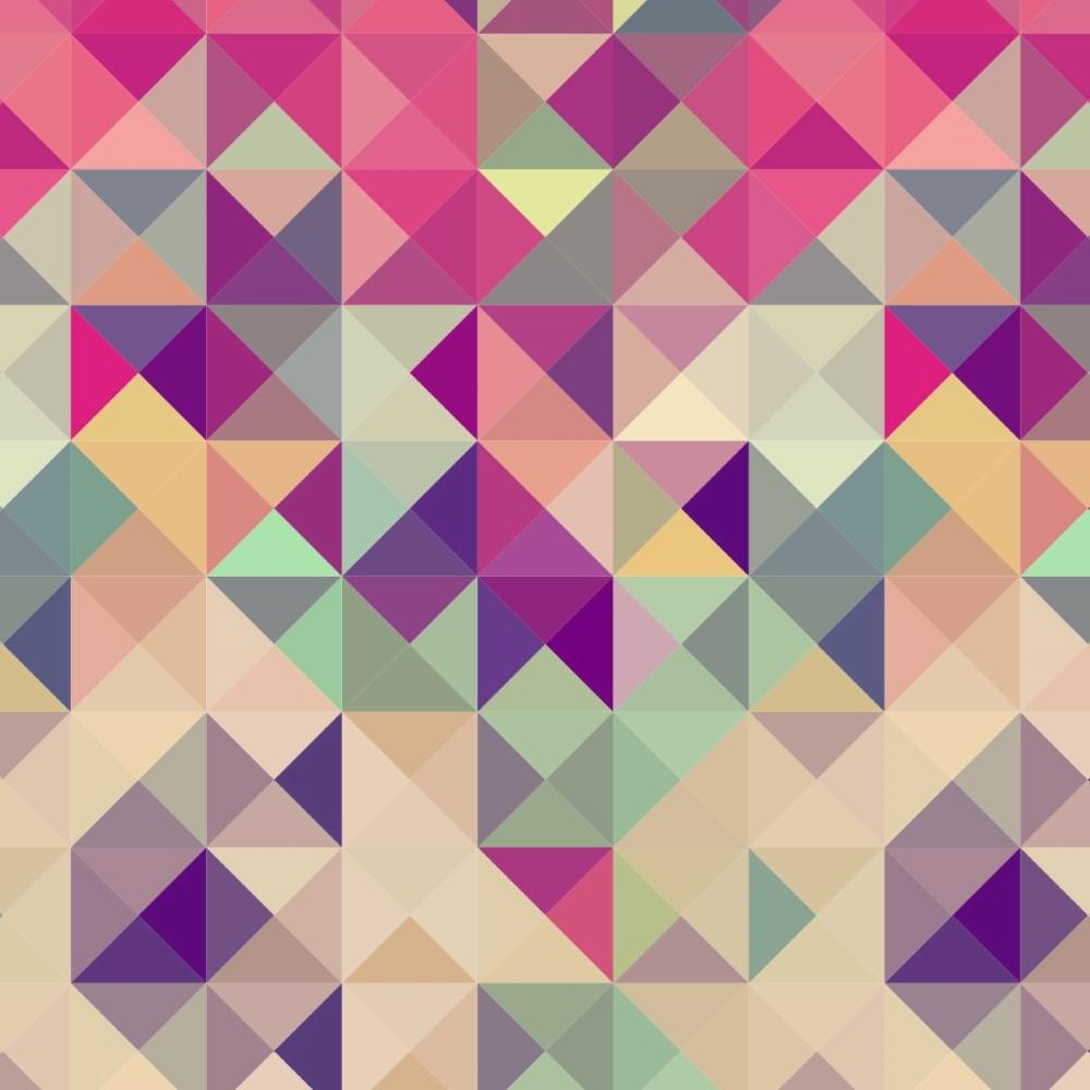 Papel de parede adesivo geom trico rosa stickdecor for Papel de pared dorado