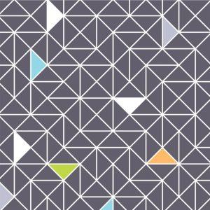 Papel de Parede Adesivo Geométrico Triângulos