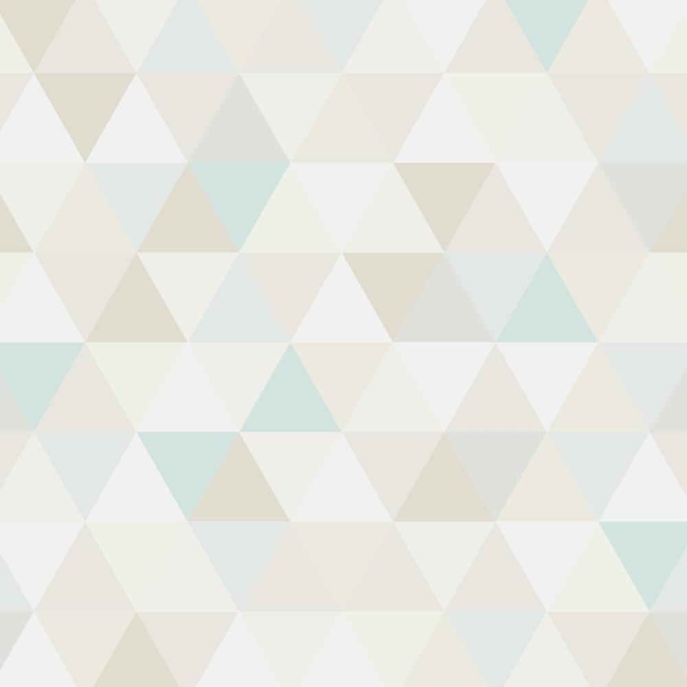 Papel de parede adesivo geom trico triangulos serenity for Papel para paredes salon