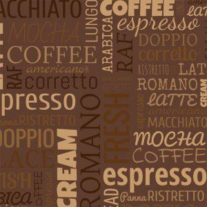 Papel de Parede Adesivo Gourmet Café com Chocolate