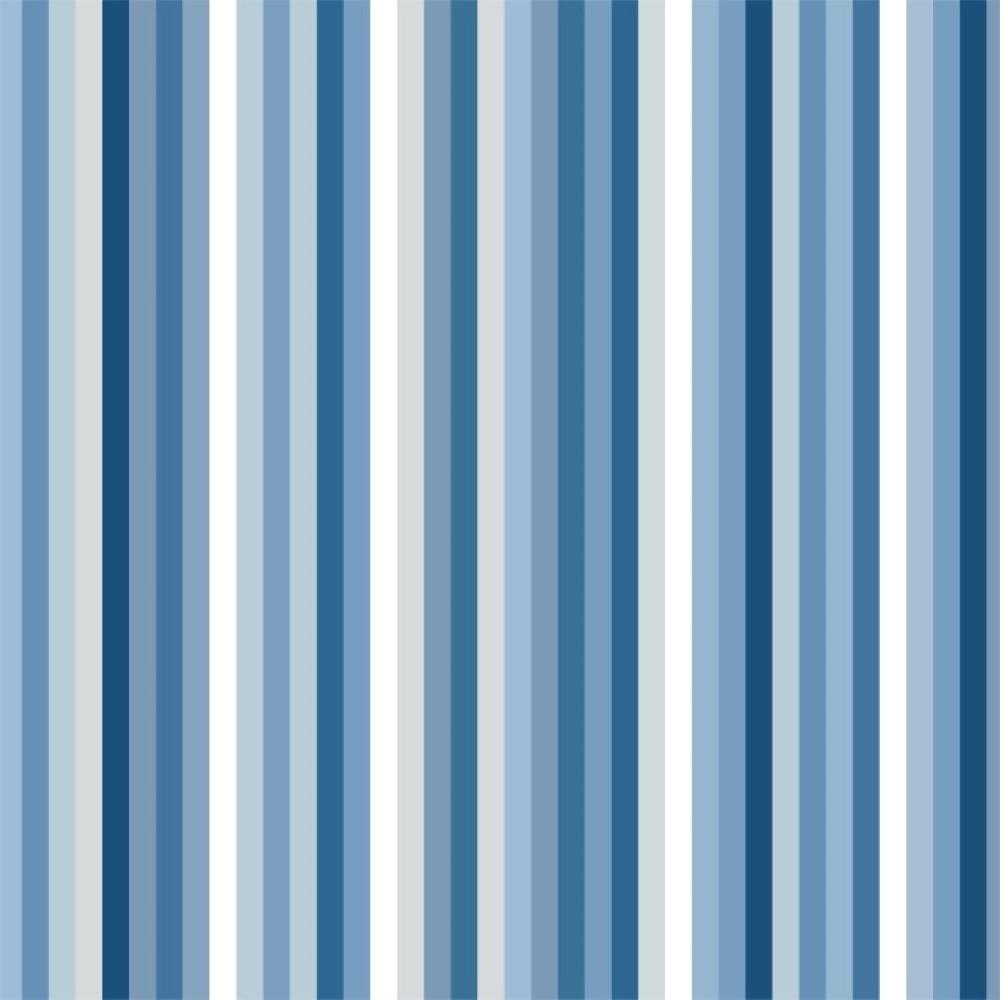 Conforama Aparador Nova ~ Papel de Parede Adesivo Listras Azuis StickDecor