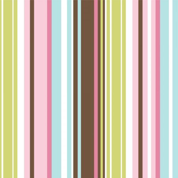 Papel de Parede Adesivo Listras Coloridas Vertical