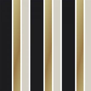 Papel de Parede Adesivo Listras marrom e preto