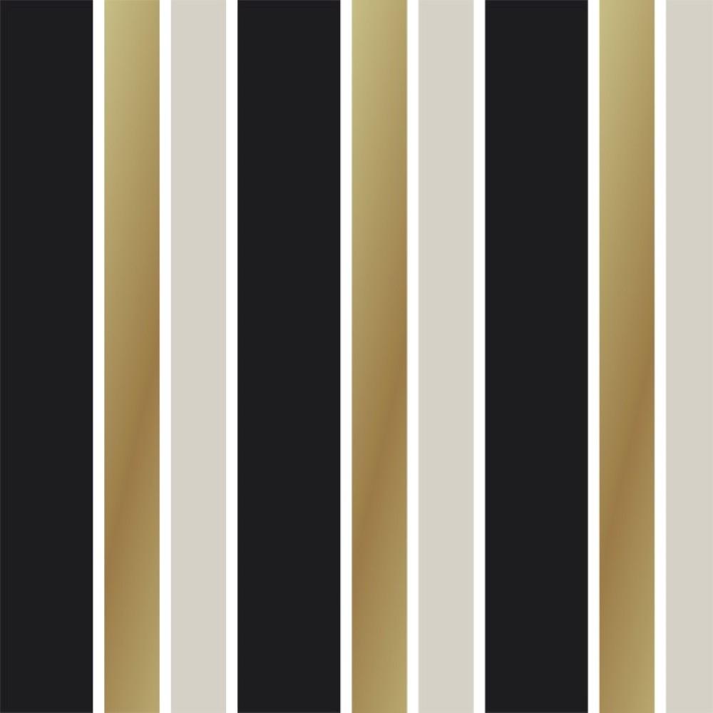 Adesivo De Francesinha Onde Comprar ~ Papel de Parede Adesivo Listras marrom e preto StickDecor