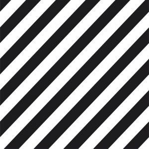 Papel de Parede Adesivo Listras Preto e Branco