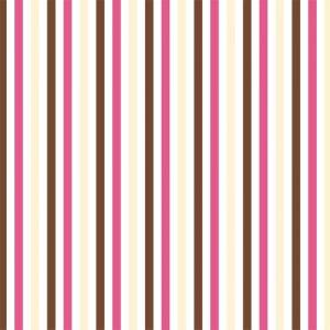 Papel de Parede Adesivo Listras Rosa Chocolate