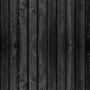 Papel de Parede Adesivo Madeira Preto