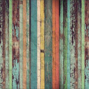 Papel de Parede Adesivo Madeira Rústica Demolição