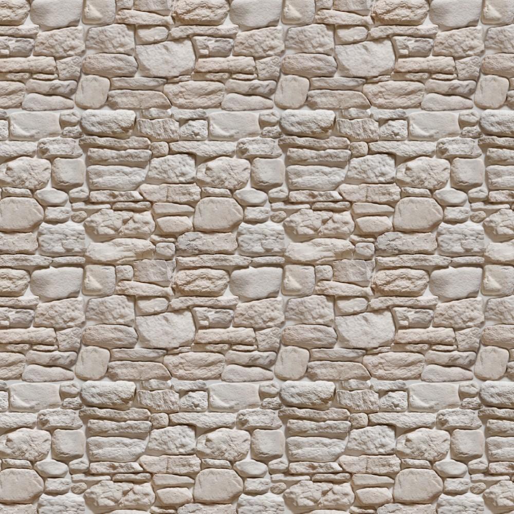 Papel De Parede Adesivo Pedra Branca 024 Stickdecor -> Papel De Parede De Pedra