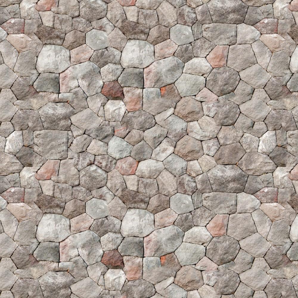 Papel De Parede Adesivo Pedra Cinza 030 Stickdecor