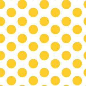Papel de Parede Adesivo Poá Amarelo