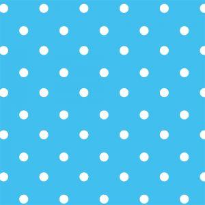 Papel de Parede Adesivo Poá Azul