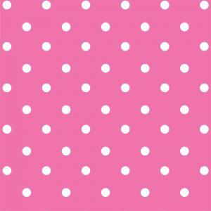 Papel de Parede Adesivo Poá Pink