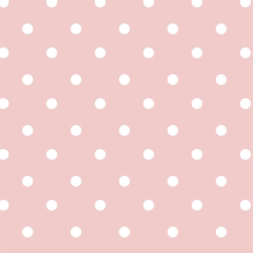 Papel De Parede Adesivo Po Rosa Beb Stickdecor