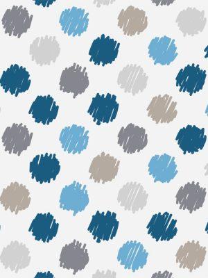 Papel de Parede Adesivo Poás Azul