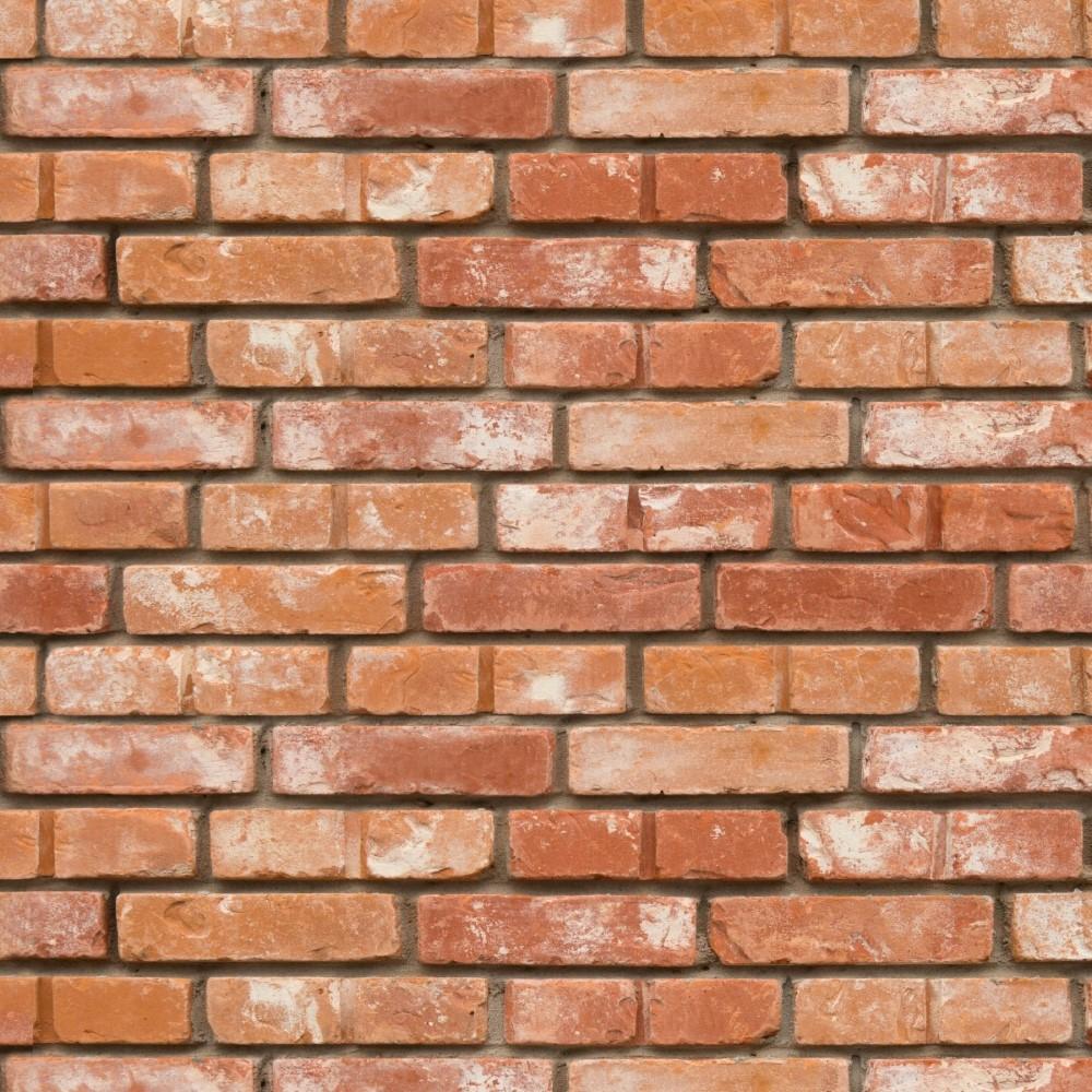 Papel de parede adesivo tijolinho a vista stickdecor for Papel de pared rustico