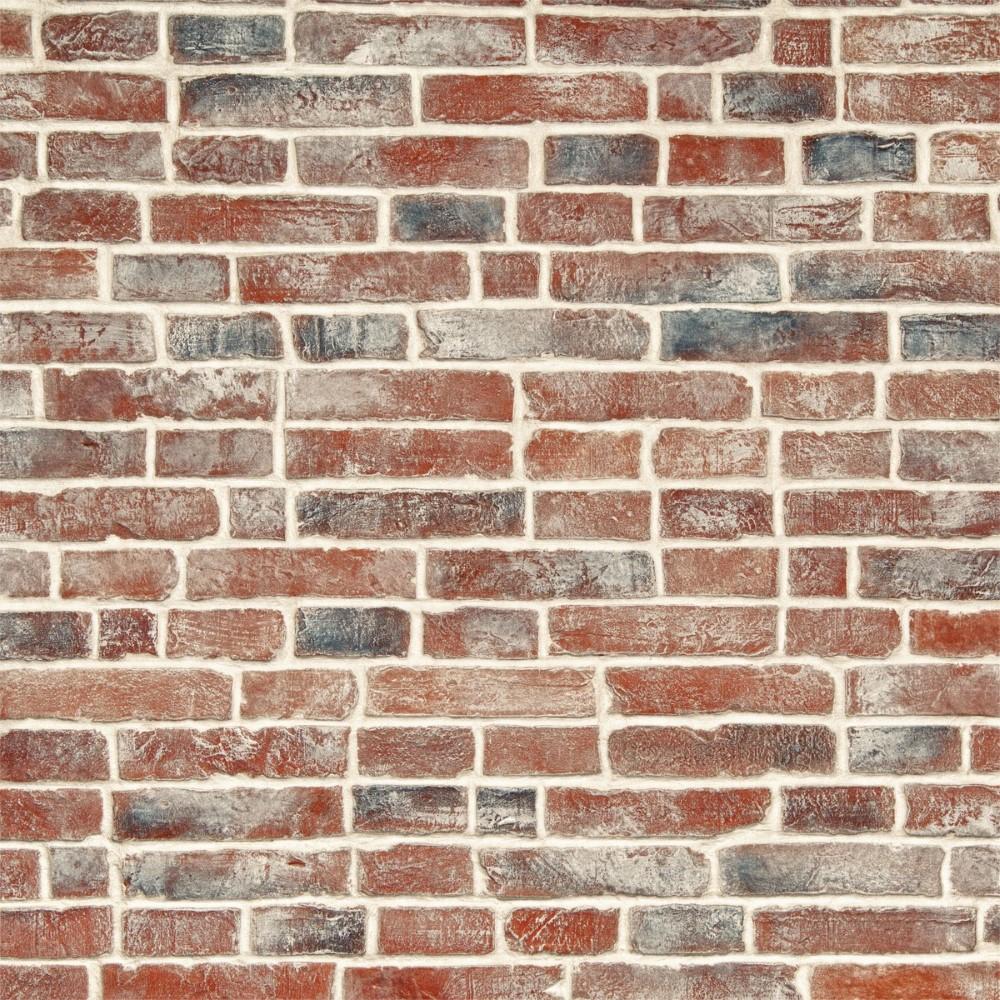 Papel de parede adesivo tijolo r stico stickdecor for Papel de pared rustico