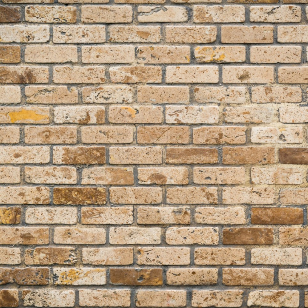 Papel de parede adesivo tijolo r stico 020 stickdecor for Papel de pared rustico